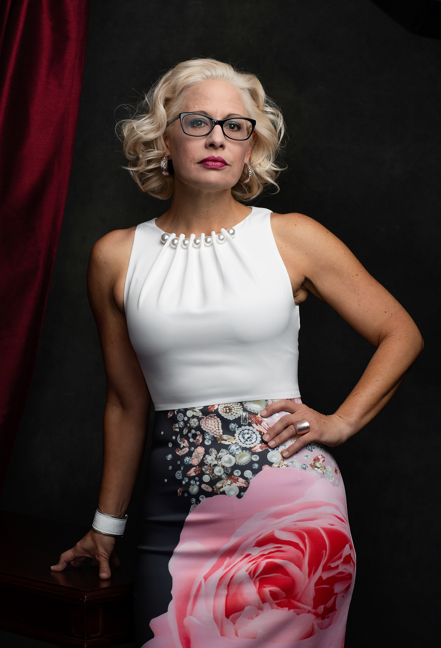 Kyrsten Sinema *****HOLD FOR WOMEN IN CONGRESS PROJECT****Kyrsten Lea Sinema is an American politician serving as the senior United States Senator from Arizona since 2019. A member of the Democratic Party, she served as the U.S. Representative from Arizona's 9th congressional district from 2013 to 2019. Sinema won the Arizona Senate election in 2018 to replace retiring Senator Jeff Flake, defeating Republican nominee Martha McSally. Sinema's victory made her the first woman elected to the United States Senate from Arizona, the first openly bisexual person elected to the United States Senate, the second openly LGBT person elected to the United States Senate (after Senator Tammy Baldwin of Wisconsin), and the first Democrat elected to the United States Senate from Arizona since Dennis DeConcini in 1988.