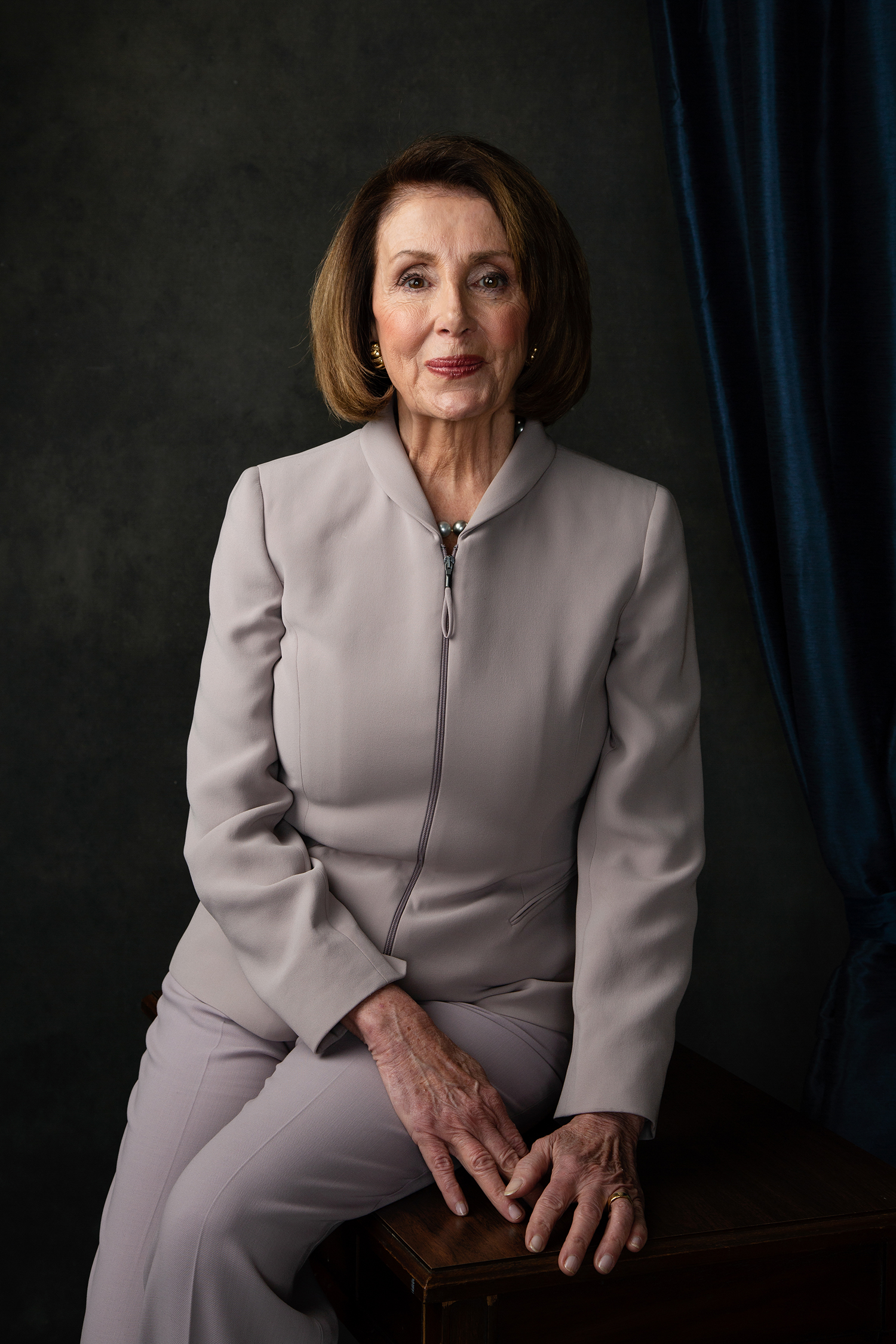 Nancy Pelosi *****HOLD FOR WOMEN IN CONGRESS PROJECT****Nancy Patricia Pelosi  is an American politician serving as Speaker of the United States House of Representatives since January 2019. First elected to Congress in 1987, she also served as Speaker from 2007 to 2011. She is the only female to have served as Speaker, and is the highest-ranking elected woman in United States history. Pelosi is second in the presidential line of succession, immediately after the Vice President. A member of the Democratic Party, Pelosi is currently in her 17th term as a congresswoman, representing California's 12th congressional district.Elizabeth D. Herman for The New York Times                              NYTCREDIT: Elizabeth D. Herman for The New York Times