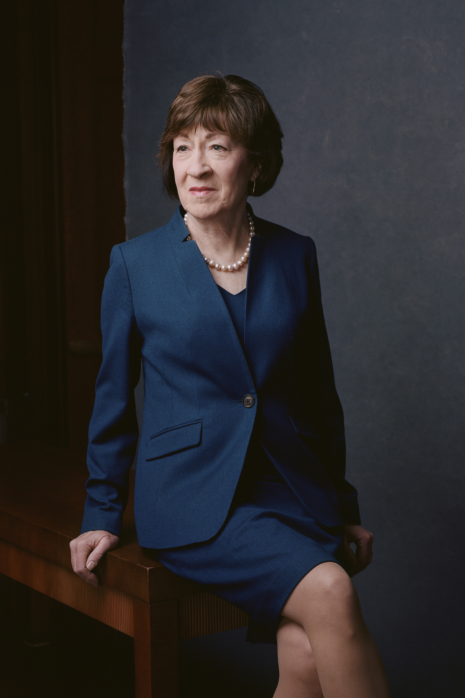 ***** HOLD FOR WOMEN IN CONGRESS PROJECT**** Susan Collins (Celeste Sloman for The New York Times)                              NYTCREDIT: Celeste Sloman for The New York Times