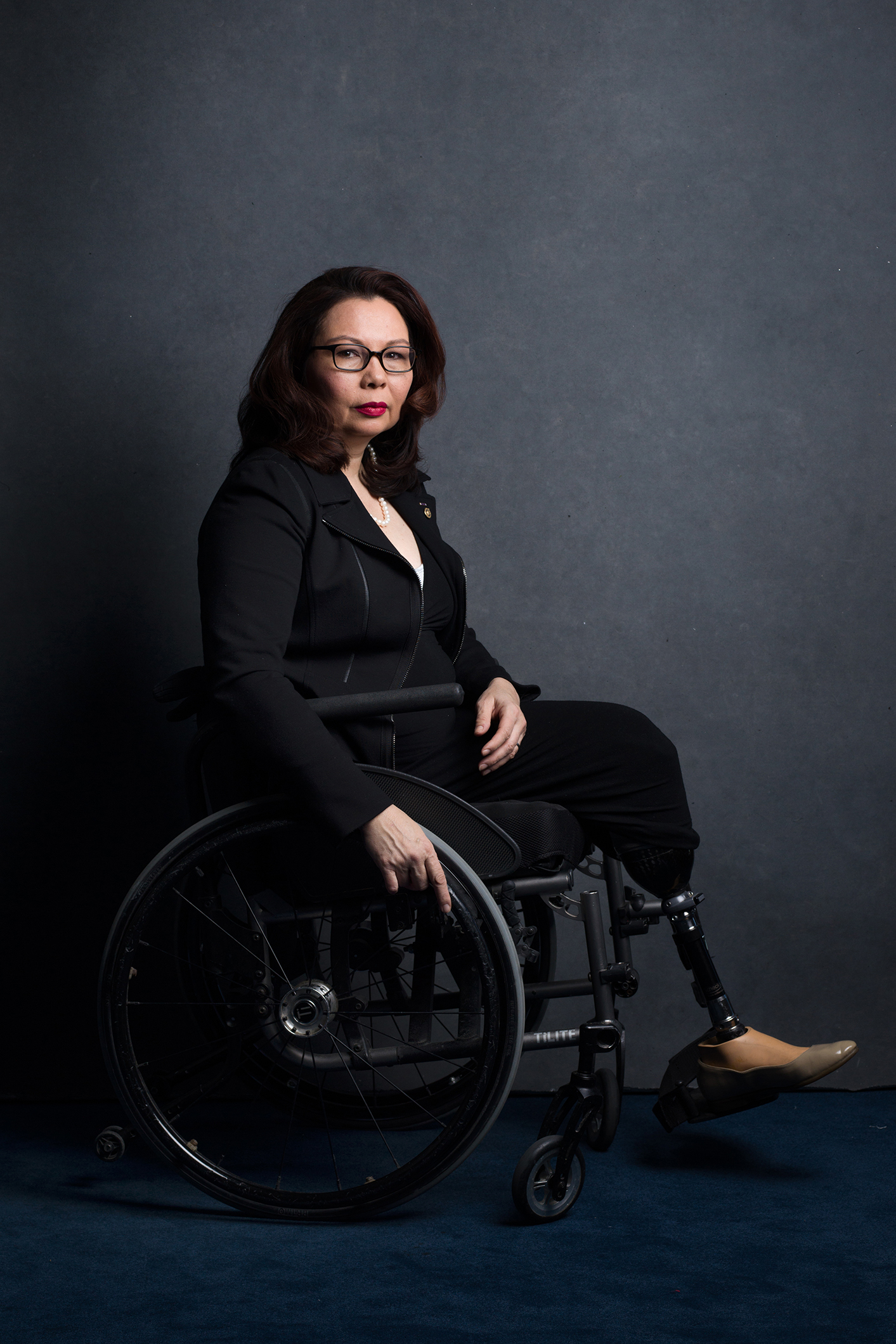 ***HOLD FOR WOMEN IN CONGRESS PROJECT, CONTACT MARISA SCHWARTZ TAYLOR*** Senator Tammy Duckworth, Democrat of Illinois
