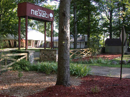 Each year during labor day weekend, we take a group to Camp Ney-A-Ti. This is a great camp where our youth can reconnect with the friends they made at camp during the summer and grow closer to God.