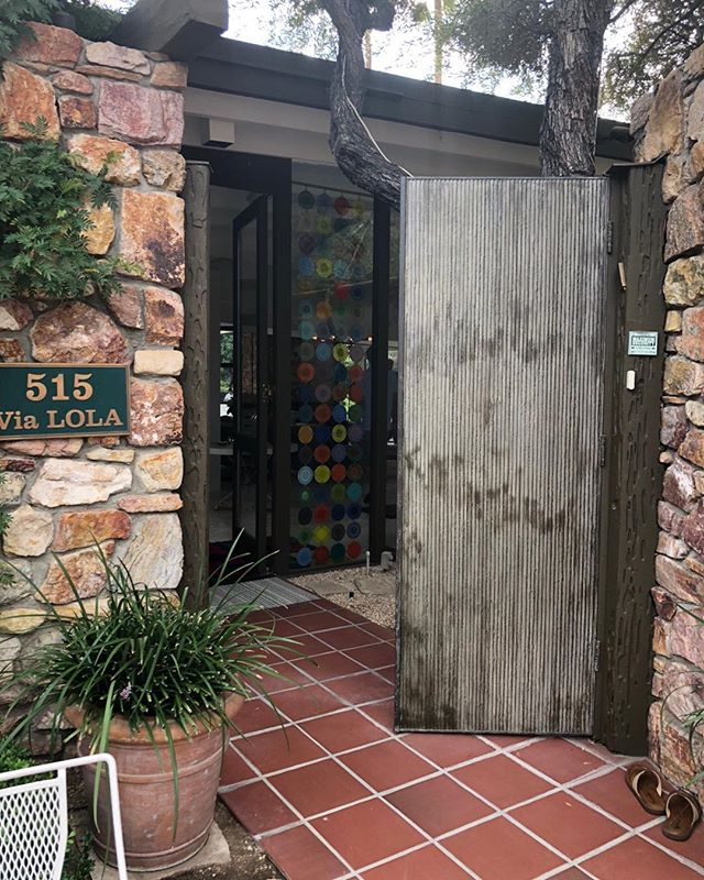 Kirk Douglas Estate@PalmSprings#designismybusiness@businessofdesign