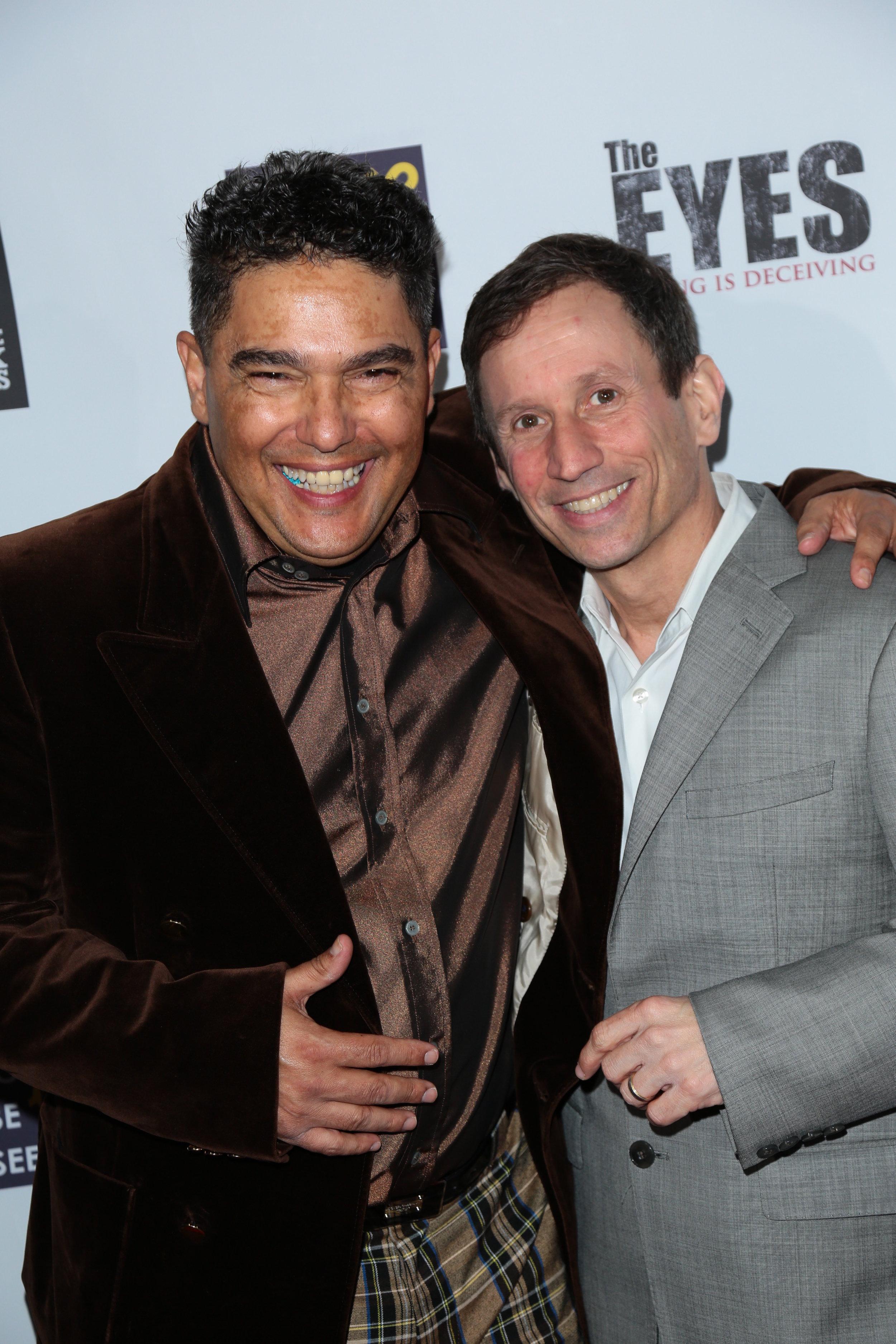 CHARLIE Nick Turturro and Director Robbie Bryan.JPG