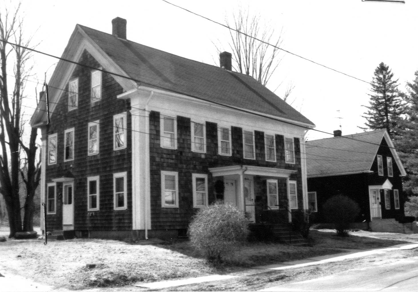 82-84 Pleasant Street  - image from the town's 1980s survey