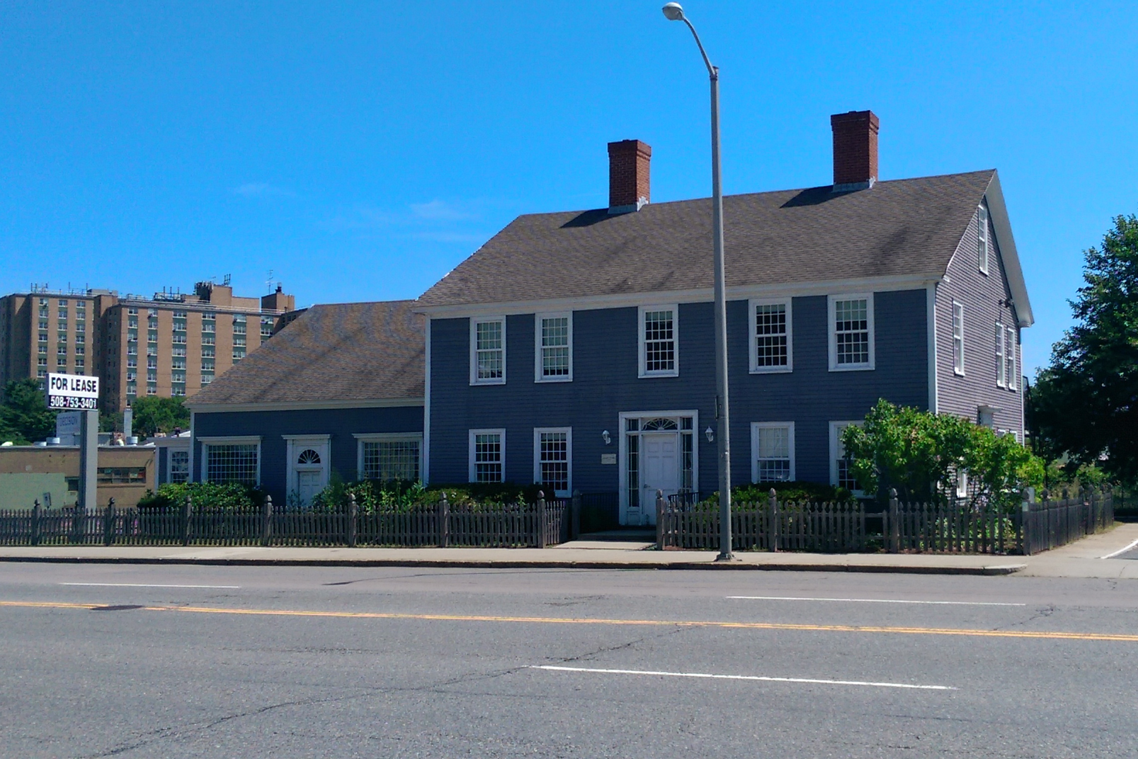 The 1812 Stearns Tavern at 651 Park Avenue in Worcester