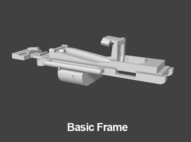 The Basic Frame - It may have fewer features than the advanced frame but it is still an improvement over the SW1200. The front wheel drive configuration of the basic frame combined with the heavier shell of the SW1500 provides excellent pulling power. Also, the basic frame's open design makes mounting the circuit board and soldering the wires easier than the SW1200.The first thing to do is to check the overall condition of the 3D print. Follow the steps below to begin.