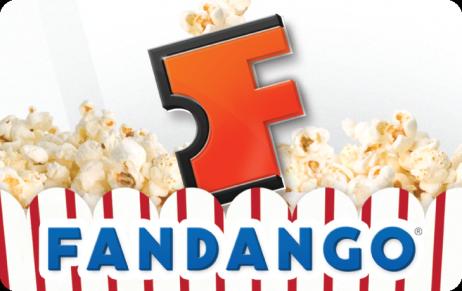 $15 Fandango Movie Gift Cards