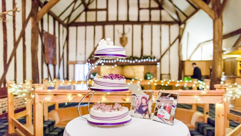 Hog Roast Wedding cake