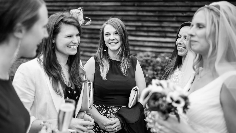 Hog Roast wedding guests