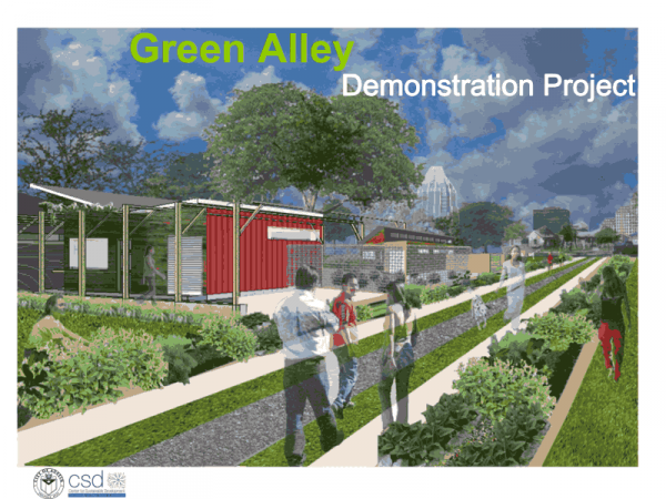 Guadalupe Neighborhood Association proposaed alley initiative