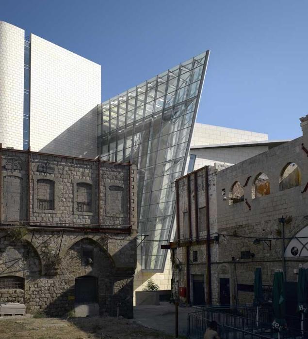 Haifa Court House Building by Chyutin Architects