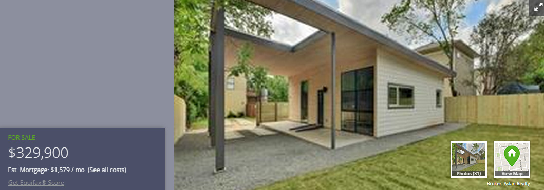 Affordable housing in central Austin