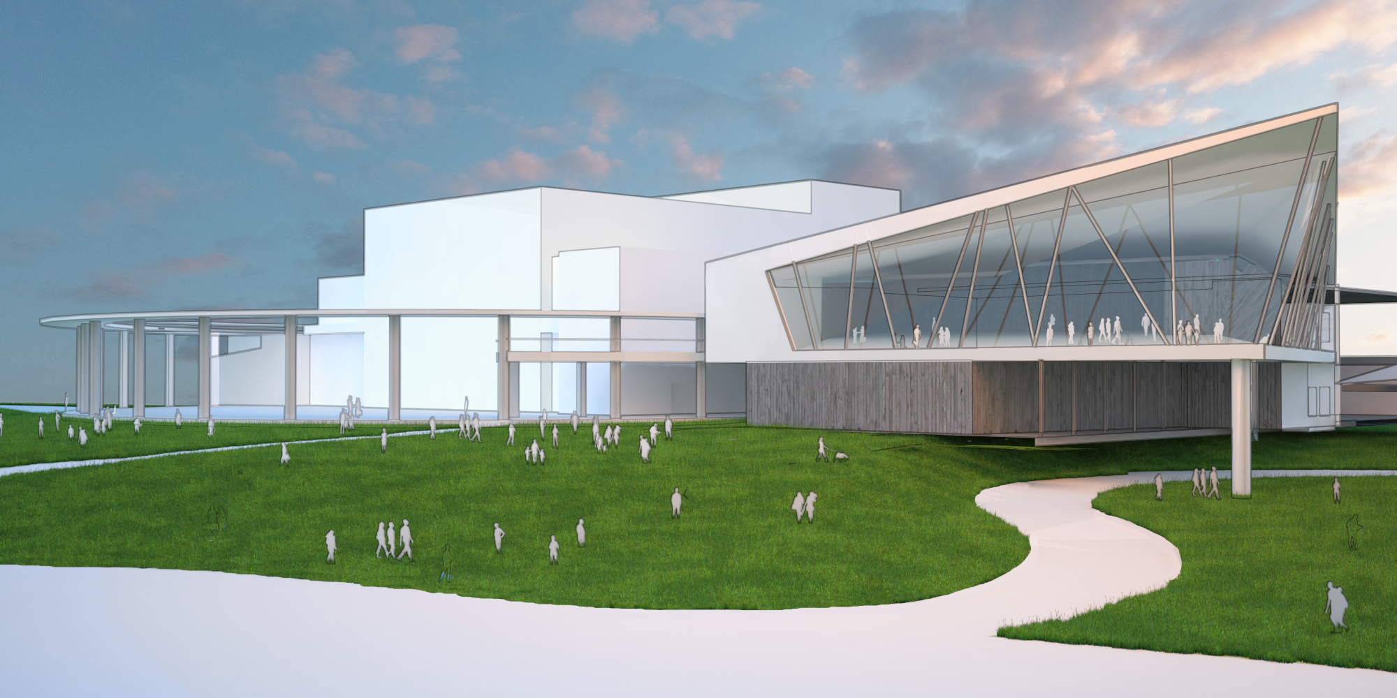 Proposed Long Center Expansion