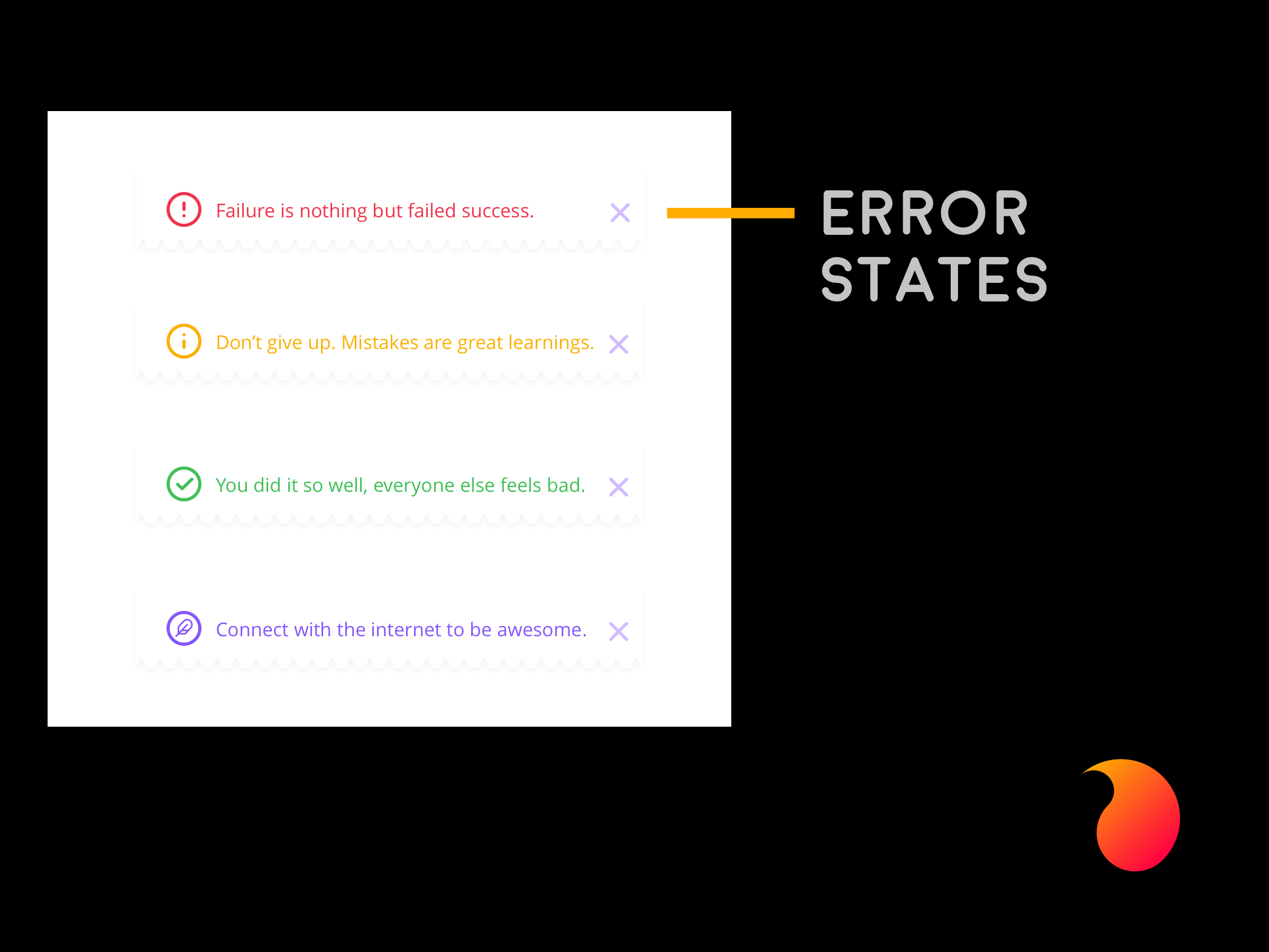 Error States (UX Copywriting)
