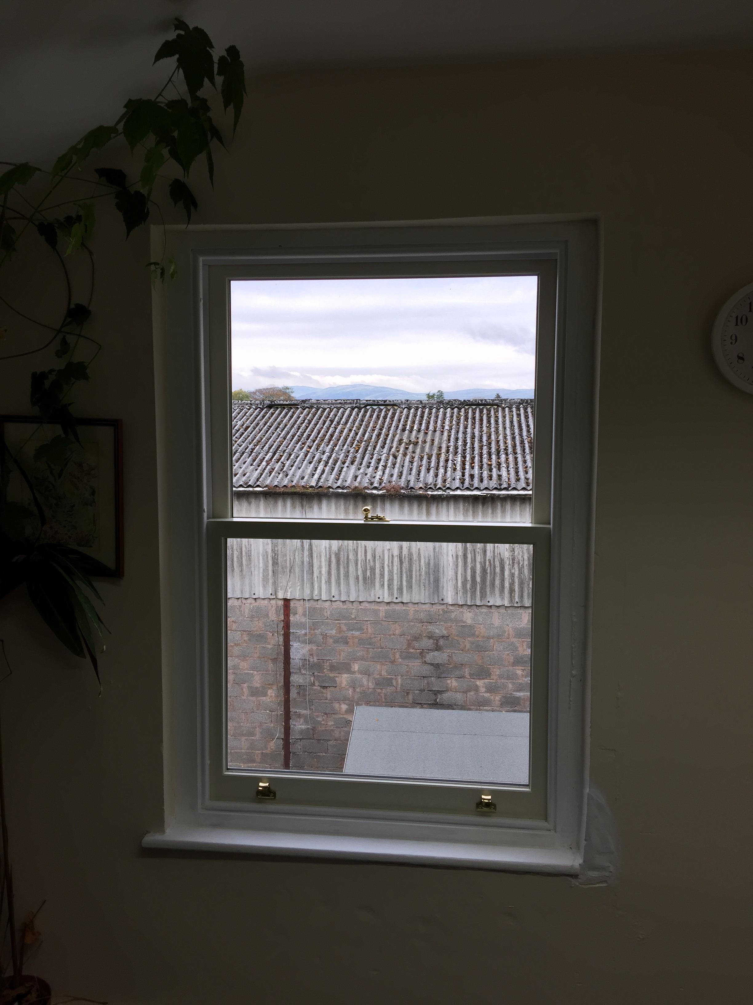 Double glazed sash window Kendal