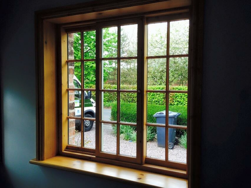 Pre-finished timber windows