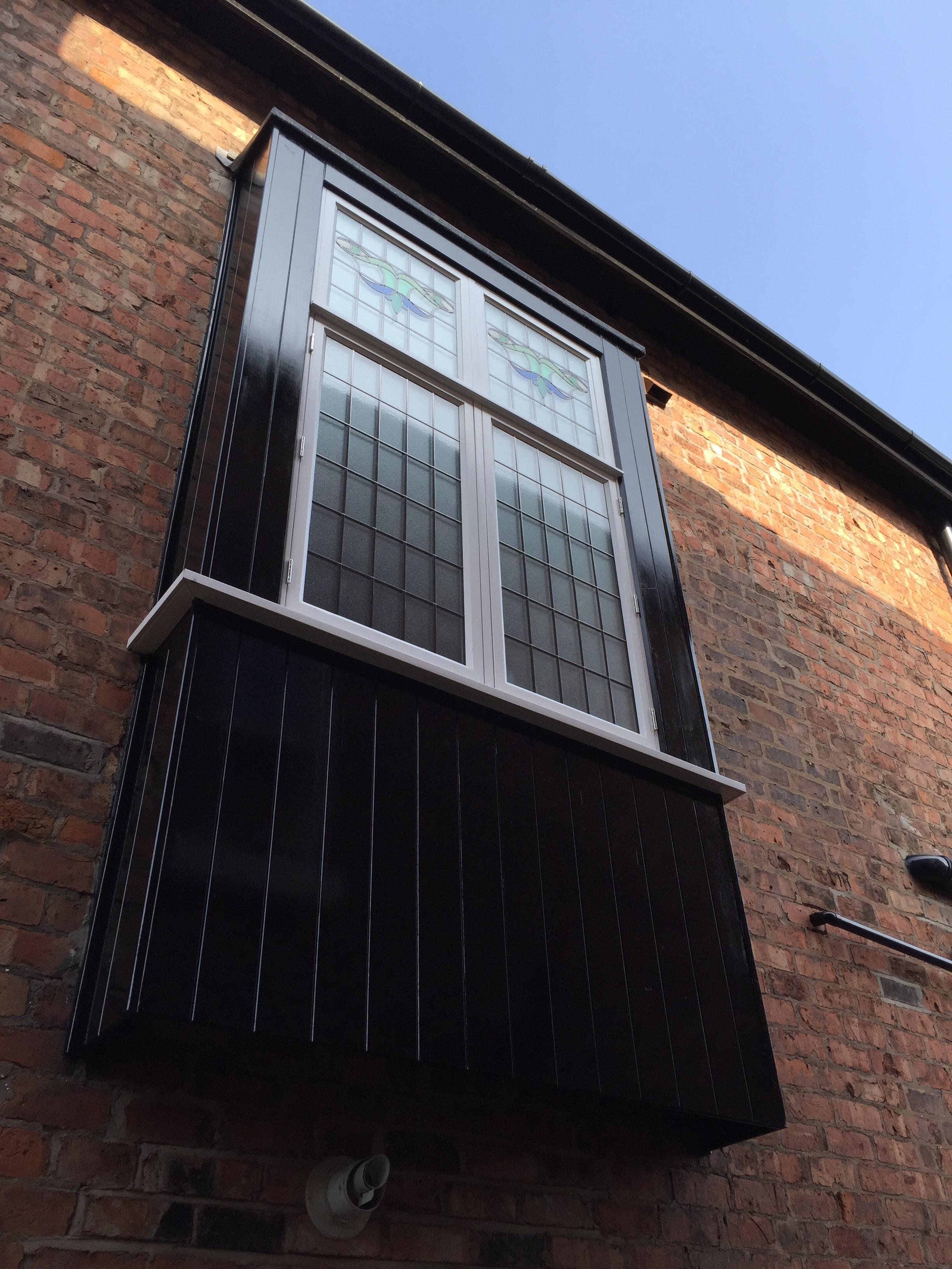 Oriel window, Birkdale, Southport, Merseyside