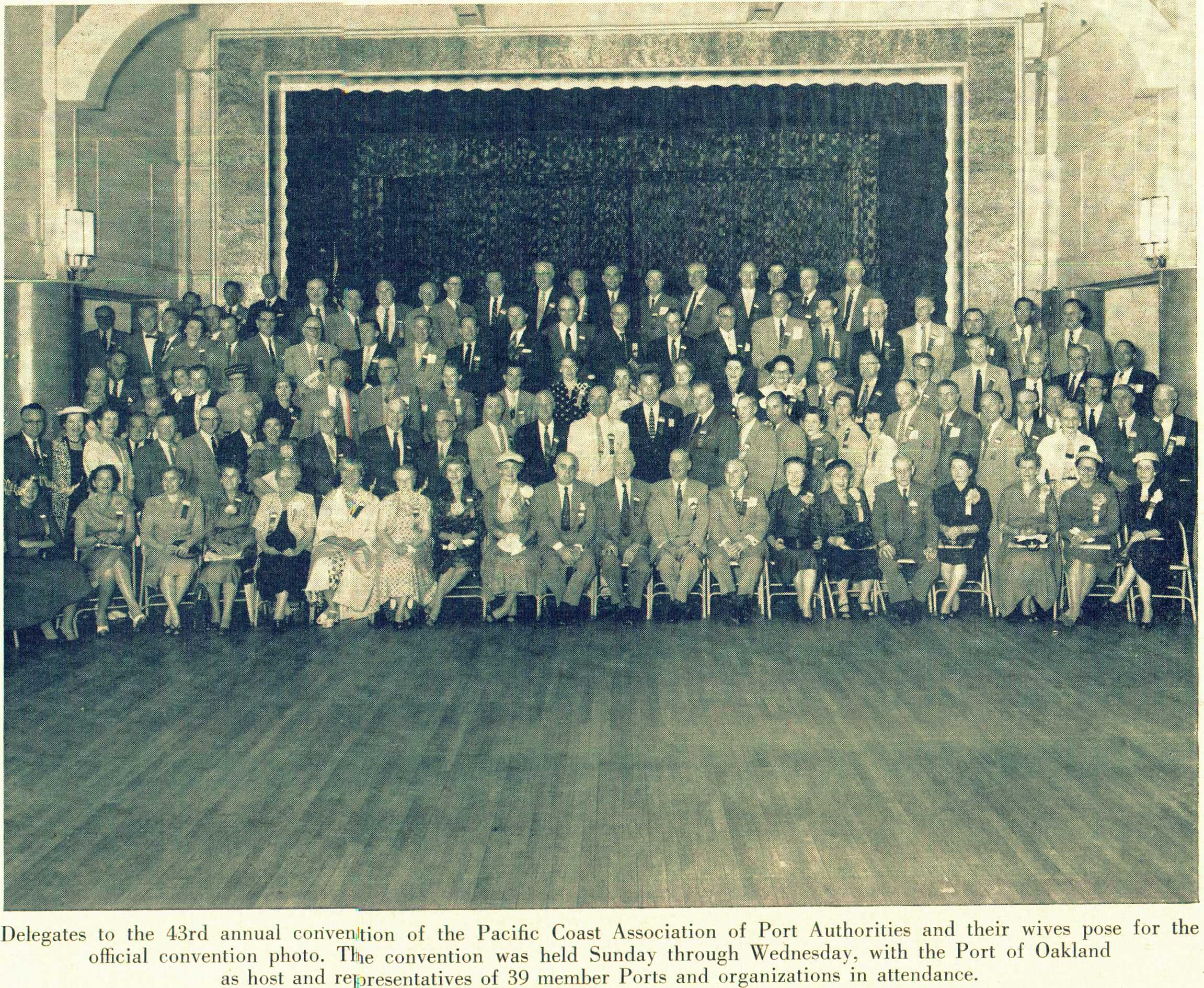1956 Annual Conference, Oakland