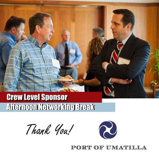 Thank you, Port of Umatilla, for being a Annual Conference Sponsor! #portofcolumbiacounty #appac19