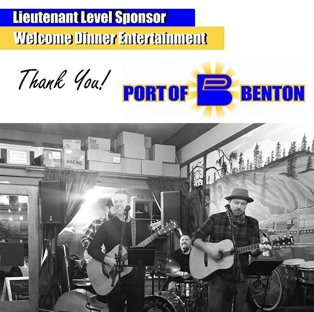 Thank you, Port of Benton, for your generous support of our Annual Conference! #portofcolumbiacounty #appac19