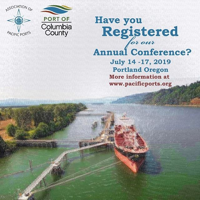 It's almost time!!! Register now for our Annual Conference in Portland. #appac19 #columbiacounty