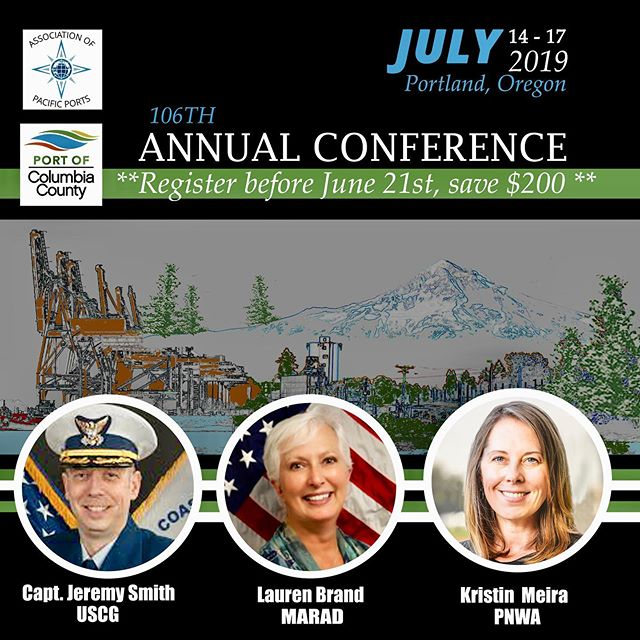 Our annual conference is less than a month away! Register by June 21st, 2019 and save $200. Link for registration is in our bio. #appac19 #columbiacounty