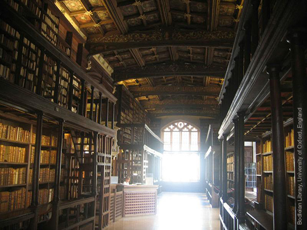 Oxford Libraries, England