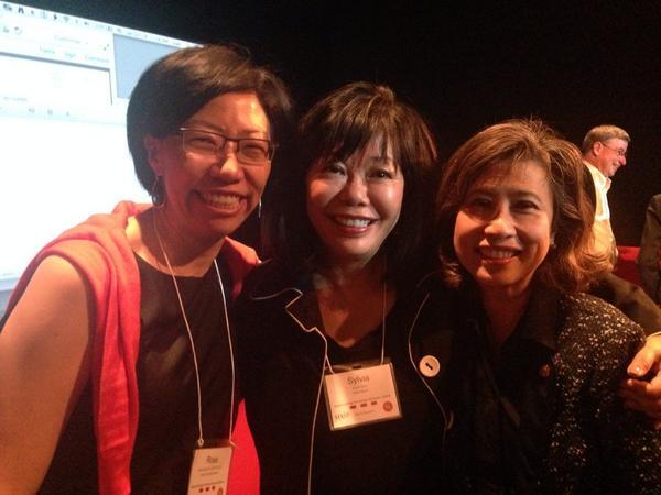 Rosa Sheng, Sylvia Kwan, and Elizabeth Chu Richter