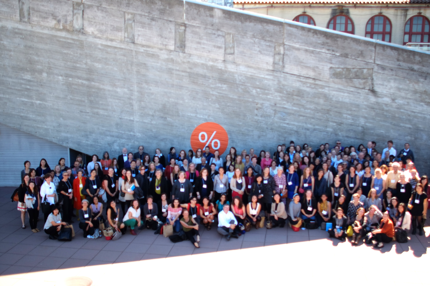 Equity by Design Symposium 2014: Group Photo at San Francisco Art Institute (photo credit:Daniel Wang)
