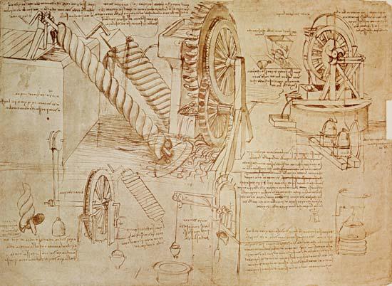 Codex Atlanticus  by  Leonardo da Vinci