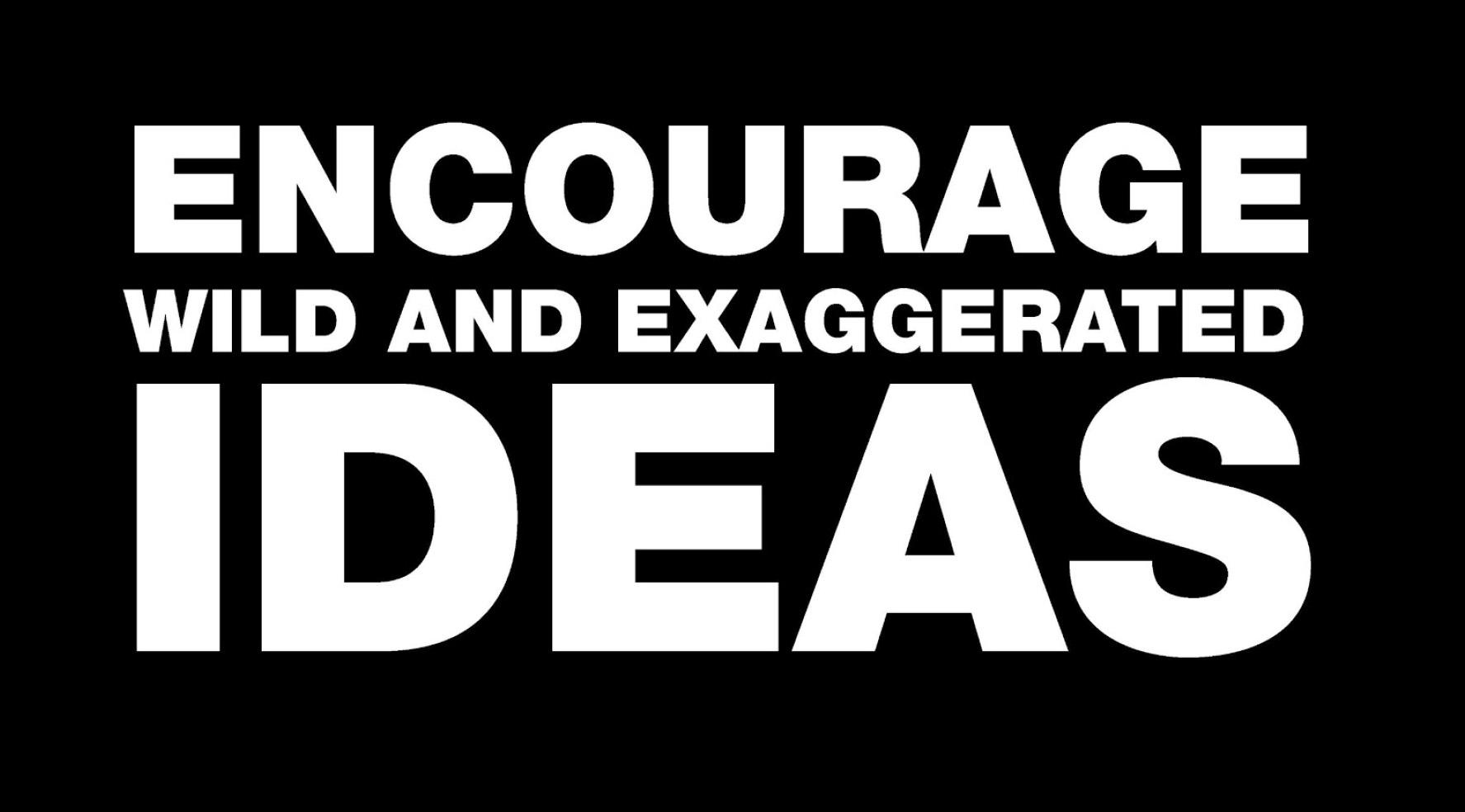 encouragewildideas