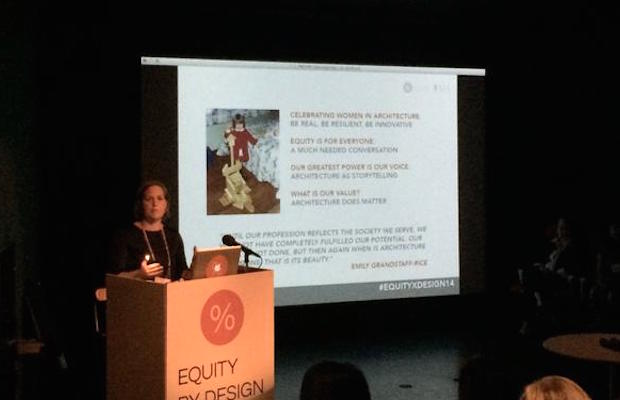 Emily Grandstaff-Rice, AIA Keynote at Equity by Design Symposium, October 18, 2014