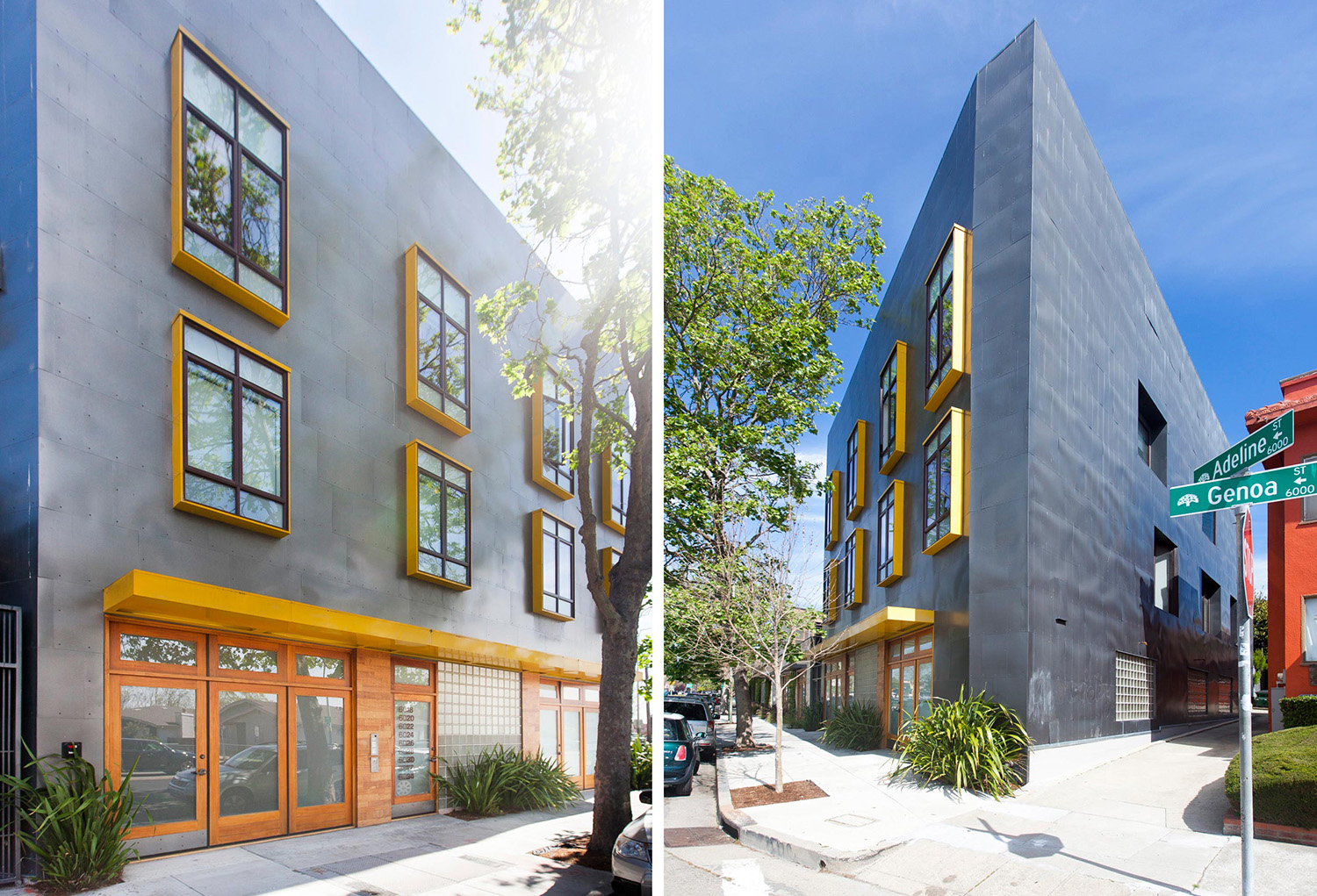 Wilson Associates  is a Developer,Design,Build family run firm. This is an apartment building they developed in Oakland, CA.
