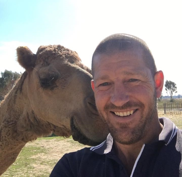 Adam & Cookie the camel.jpg