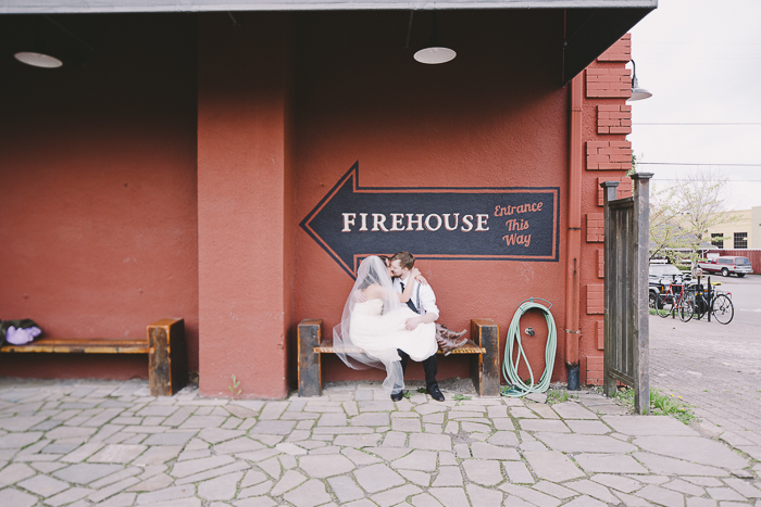 Wedding Location: Wahclella Falls, Oregon  Hospitality: Hotel Rose, PDX  Dress: The Dress Theory  Reception: The Firehouse  Second Shooter:  Paige Garland