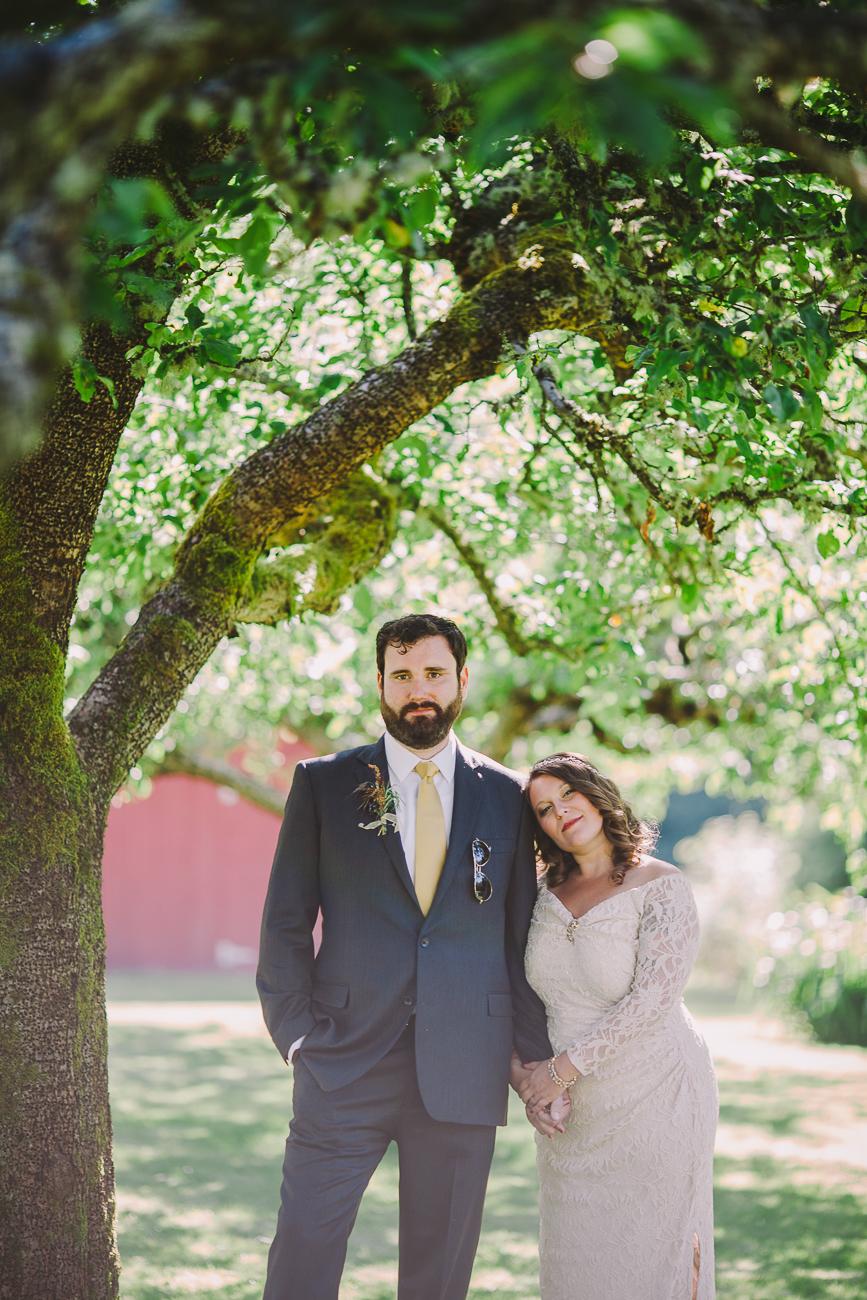 A romantic photo shoot under the trees - Sahara Coleman - Professional Wedding Photographer, 2014 Seattle Washington