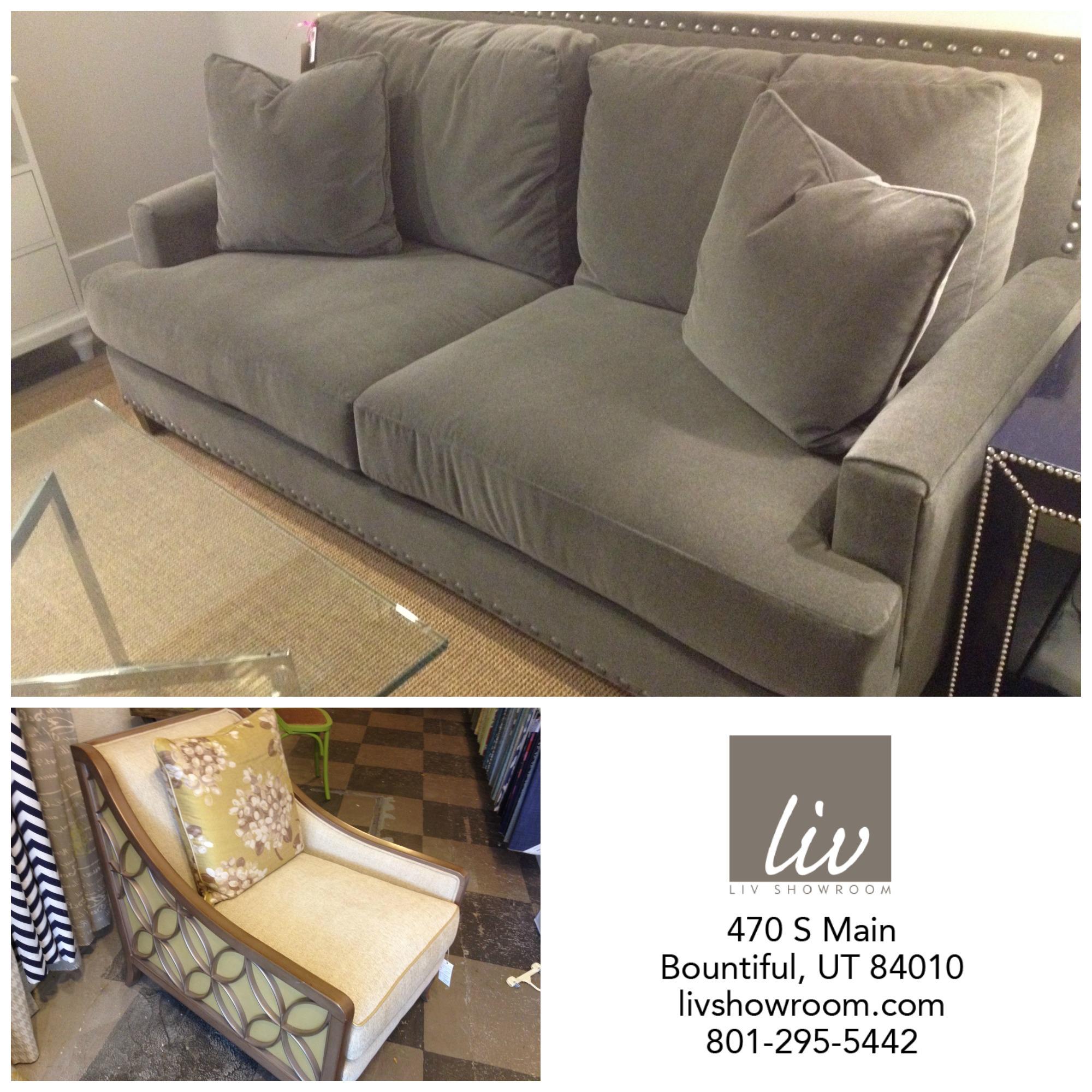 Top: Linkin Sofa // Reg. $2233 //  SALE: $1675   Bottom Left: Social Butterfly Chair // Reg. $1860 //  SALE: $899