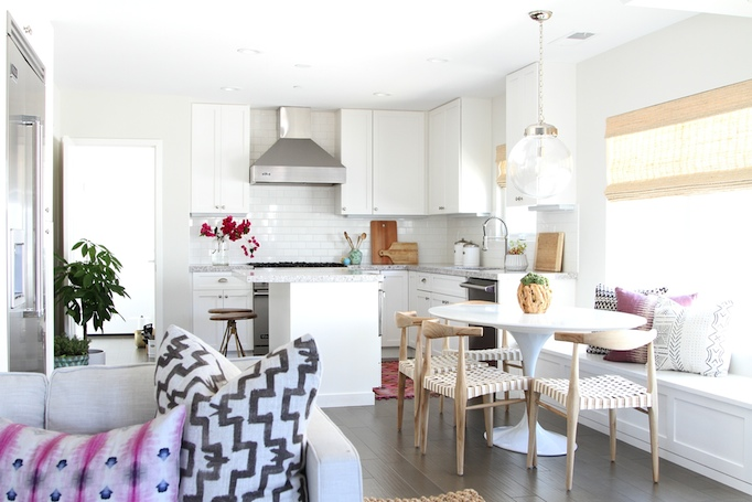 Becky Owens is the master of Boho Chic.Her California style always has a summery or spring vibe.In these designs,she mixed fresh bohemian patterns and color that will last all spring and through the summer.
