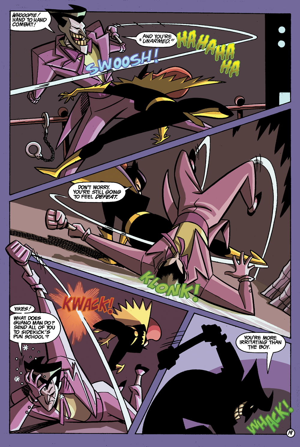 Batman: Gotham Adventures #1 Sample Page 7