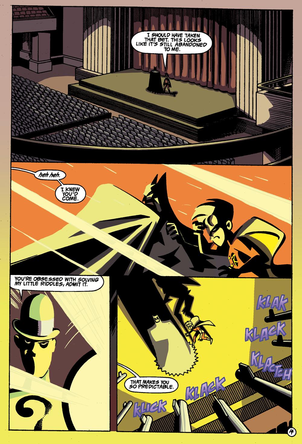 Batman: Gotham Adventures #1 Sample Page 2
