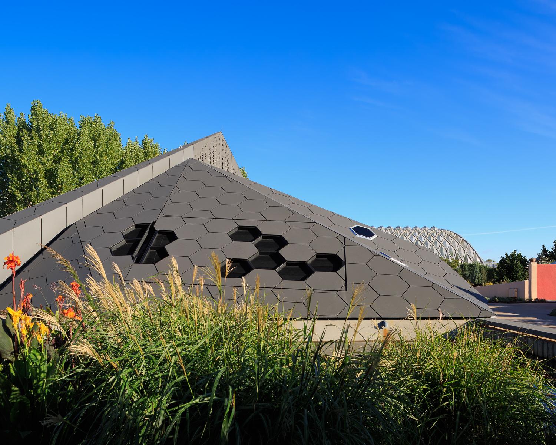Denver Botanic Gardens Science Pyramid by Burkett Design @ 2015 JC Buck