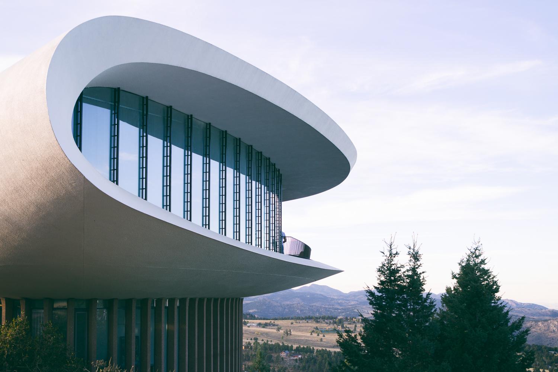 Sculptured House Exterior © JC Buck