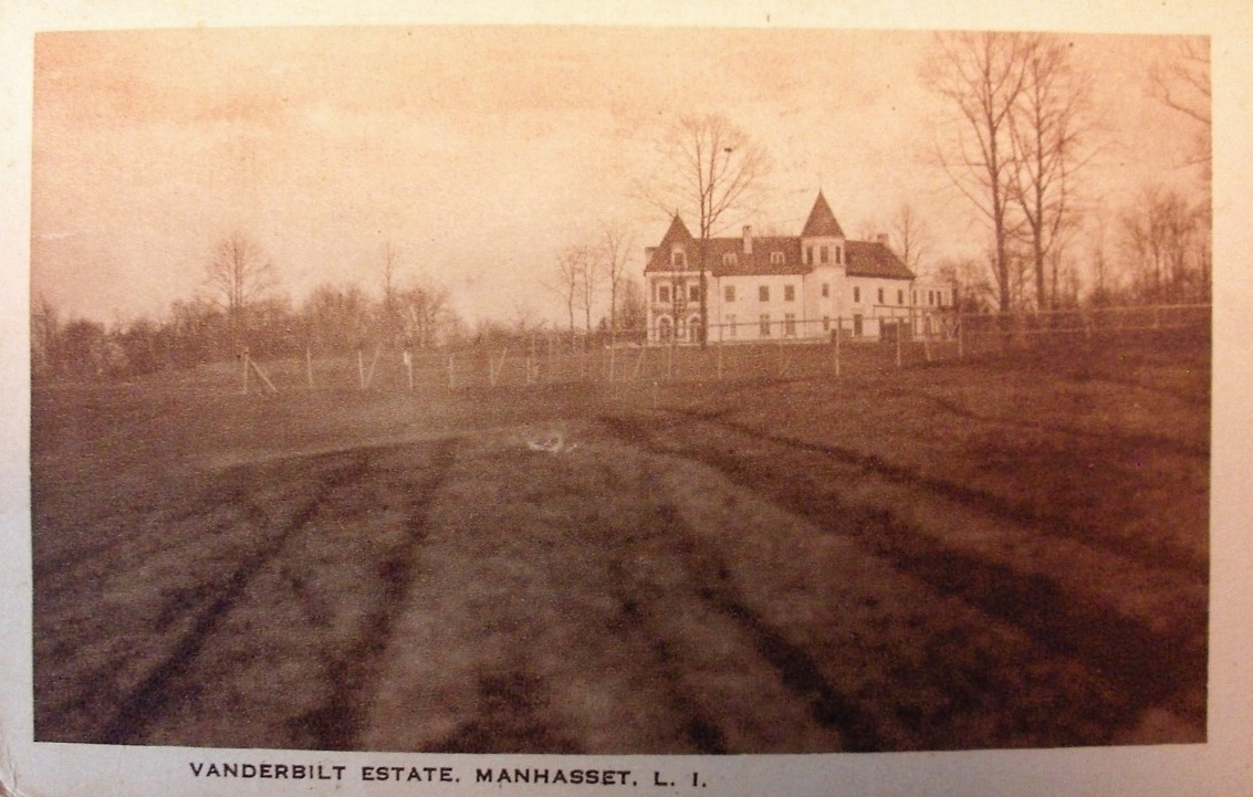 ' Sherryland ', originally the  Louis Sherry  estate c. 1915 in Manhasset and later owned by  Virginia Graham Fair Vanderbilt  .