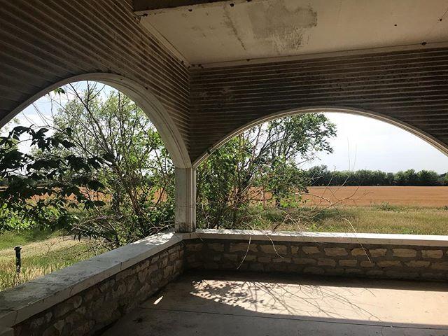 Abandoned vista between Cuba and Clyde