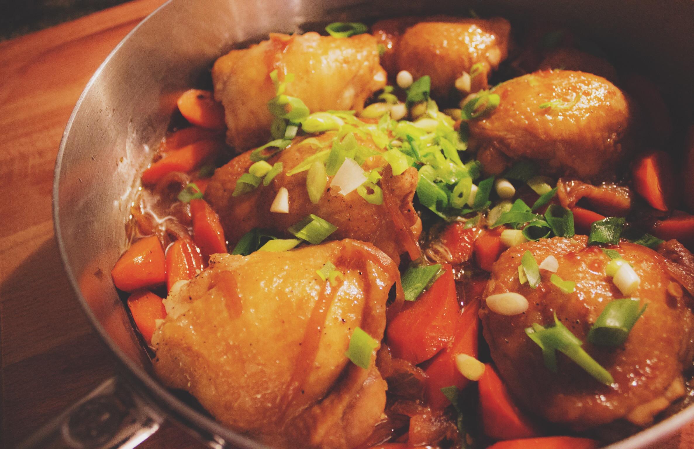 Chicken Estufao / Chicken Adobo