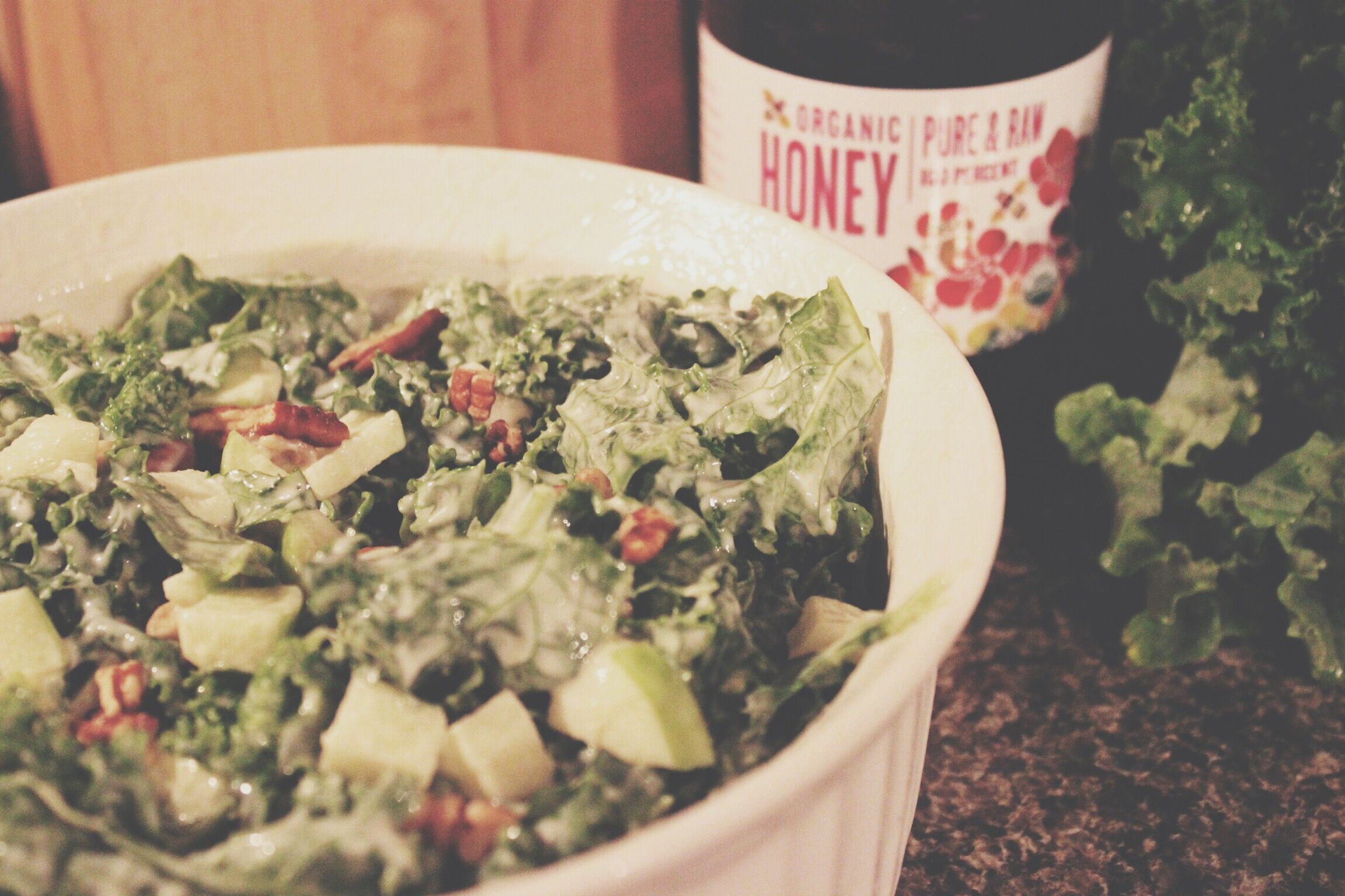 Kale & Apple Pecan Slaw/Salad