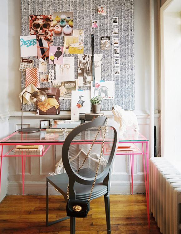 Small Home Office Design Ideas Glass Desk Hello Lovely Living