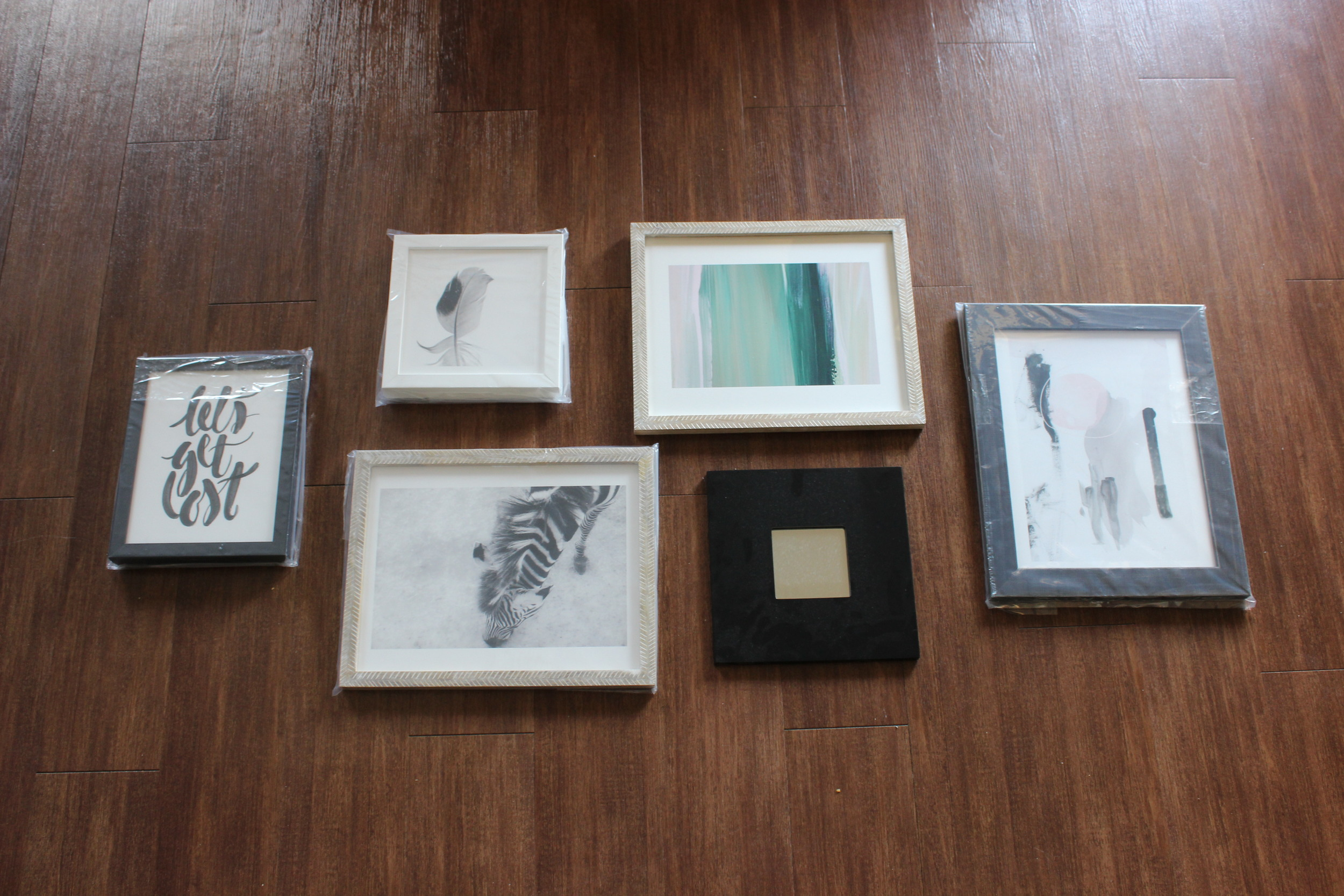 The Easiest Way to Create a Gallery Wall from Scratch