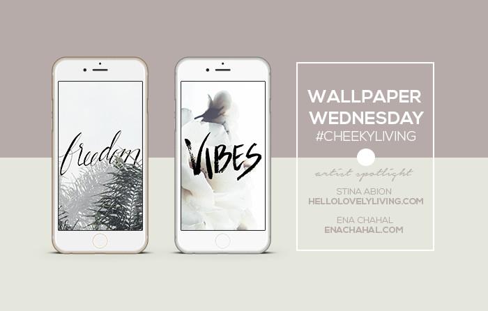 Wallpaper Wednesdays   Hello Lovely Living