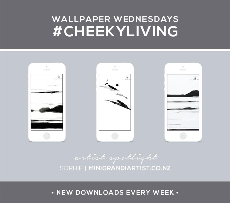 Wallpaper Wednesdays 5 | Mini Grandi Artist